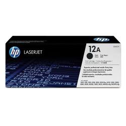 HP 12A Original LaserJet Toner Cartridge, Black (Q2612A)